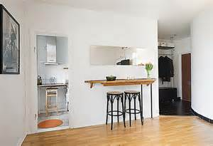 small kitchen breakfast bar ideas the small and cozy apartment in sweden home interior