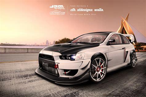 Mitsubishi Evo Hd Wallpaper Wallpapersafari