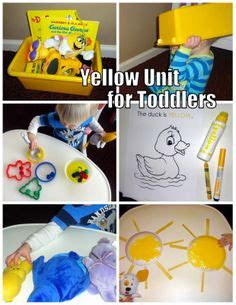 25 bright yellow crafts for preschoolers them color 669   ec28b93b4ddd52f84b7d641965a75675 yellow crafts learning colors