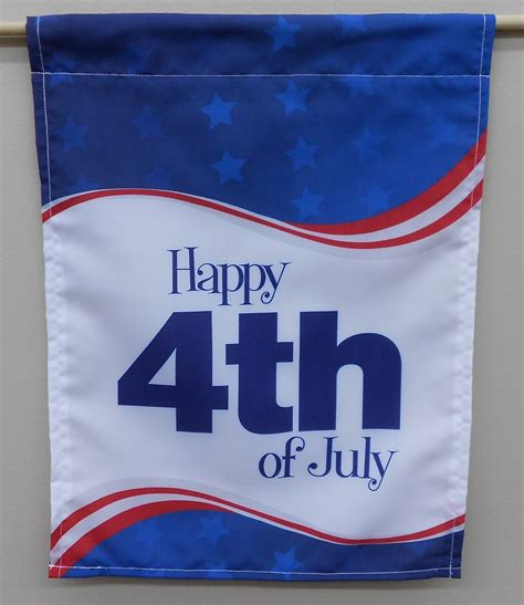 4th of july garden flags 4th of july flags custom garden flags banners 7362