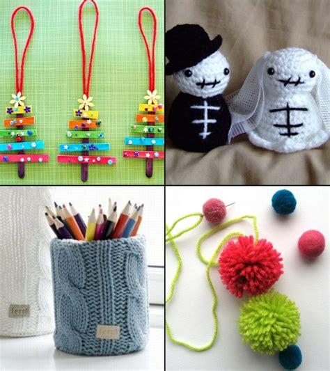 easy  simple yarn  wool crafts  kids