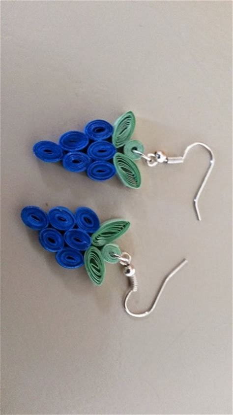 paper quilling earrings guide patterns