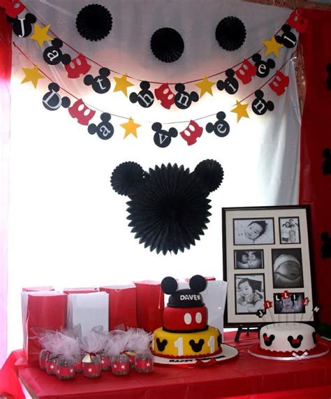 Mickey Mouse Photo Booth Backdrops