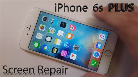 iphone repair dallas iphone 6s plus screen repair shown in 4 minutes fix cell