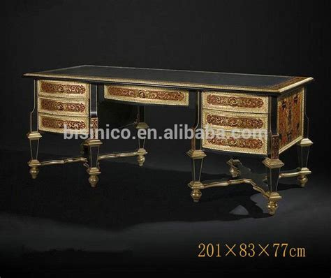 luxury royal home office furniture imperial wood carved