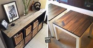 relooker un meuble ikea avec des palettes 20 exemples With transformer des palettes en meuble