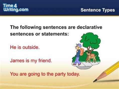 declarative  interrogative sentences timewritingcom