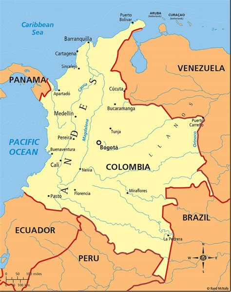 ideas  map  colombia  pinterest columbia