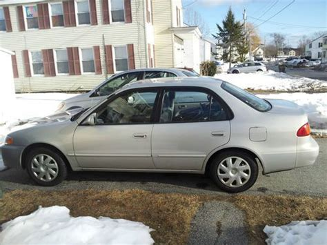 Toyota Portland Maine by Sell Used 2001 Toyota Corolla 175 460 In South Portland