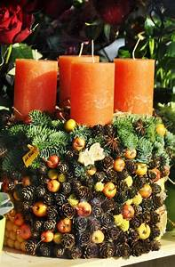 Adventsdeko Aus Naturmaterialien : adventskranz basteln das highlight in der adventszeit ~ Watch28wear.com Haus und Dekorationen