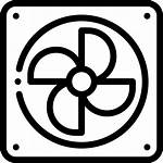 Fan Services Icon Icons Air Conditioning Cooling