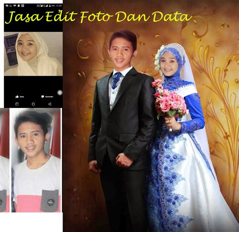 toko opik jasa edit foto  data edit foto pre wedding