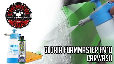 gloria foam master chemicalguys eu demo how to use the gloria foam master fm10