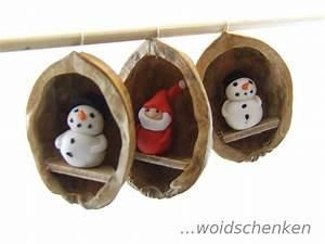 Basteln Mit Nüssen : baumanh nger nussschale winter und weihnachten ~ A.2002-acura-tl-radio.info Haus und Dekorationen