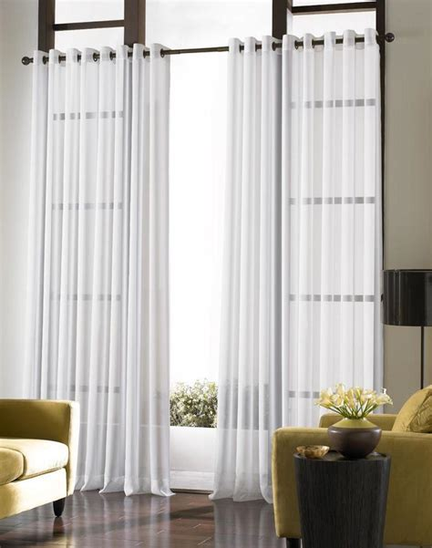 Curtain Ideas For Large Windows In Living Room #1662