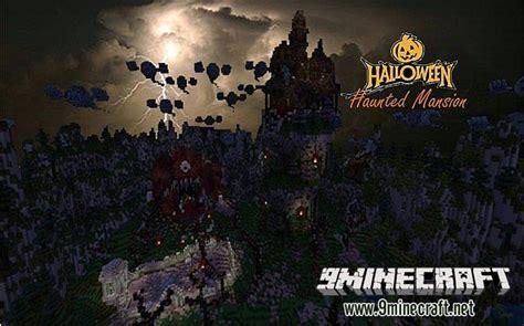 haunted mansion halloween map minecraftnet