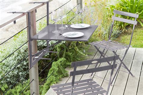Tables De Balcon by Table Pliante Balcon Ekipia