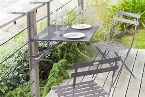 Table De Balcon Pliante : table pliante balcon ekipia ~ Melissatoandfro.com Idées de Décoration