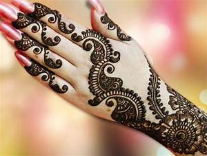 Simple Round/Circular Mehndi Designs 2017 for Hands Free ...