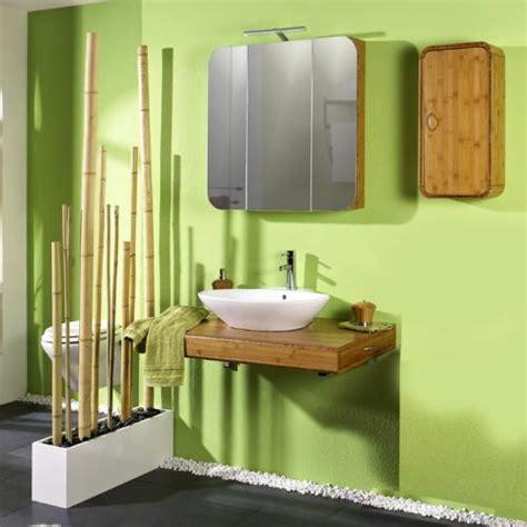 badezimmer  tlg bambus massiv seidenmatt badmoebel