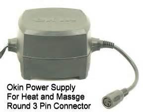 okin 3 pin power supply adaptor transformer