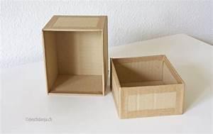 Deko Karton Mit Deckel : karton recycling schachtel selber machen handmade kultur ~ Frokenaadalensverden.com Haus und Dekorationen