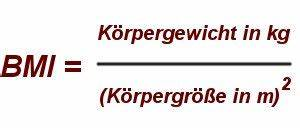 Körpergewicht Berechnen Formel : bmi rechner ~ Themetempest.com Abrechnung