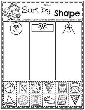 Measurement Worksheets Kindergarten math worksheets