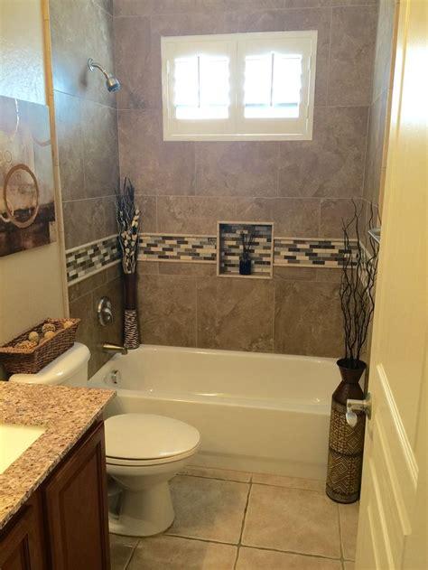 bathroom remodel tiled  bathtub shower surround