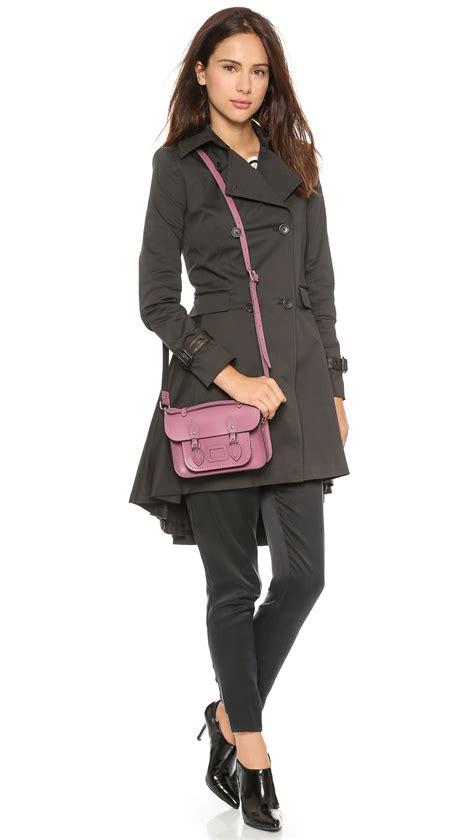lyst cambridge satchel company mini classic satchel dark