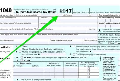 types of tax forms 2017 federal tax form 1040 papers and forms
