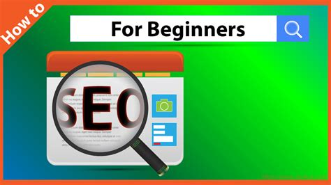seo for beginners how to seo for beginners