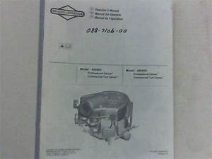 Bad Boy Mower Part 30 B U0026s Motor Manual  Stand