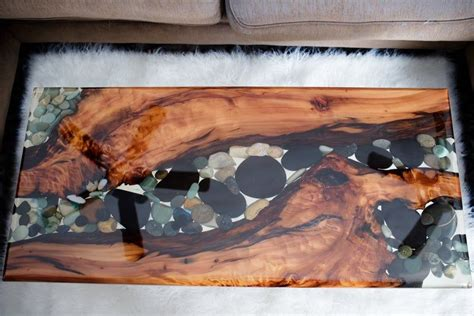 Riverrock has well trained and knowledgeable staff who know how to make an espresso drink the way it's supposed to be made. River Rock and Sinker Cypress Coffee Table in 2020 (With images) | River rock, Cypress