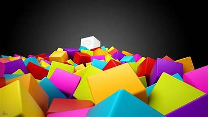 Colorful 3d Squares Wallpapers 1280