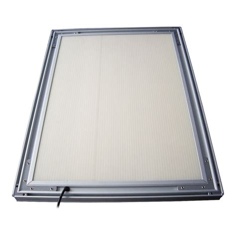 led light box a1 33 1 quot x 23 4 quot corner led slim light box without printing sign in global