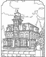 Coloring Pages Victorian Adult Houses Farm Colouring Drawing Printable Easy Christmas Az Adults Sheets Homes Printables Draw Azcoloring Landscape Books sketch template