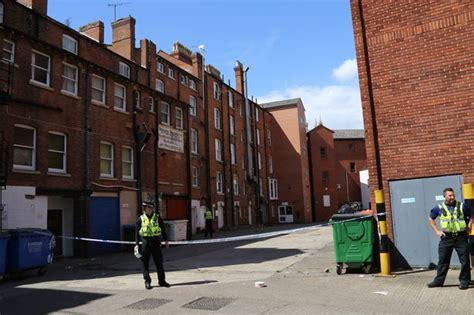 police guard rear  city centre pub  stabbing