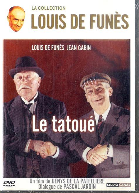 jean gabin dvd le tatoue louis de funes jean gabin dvd in francese film