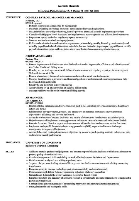 Proper Spelling Of Resume by Ar Manager Resume Sles Velvet
