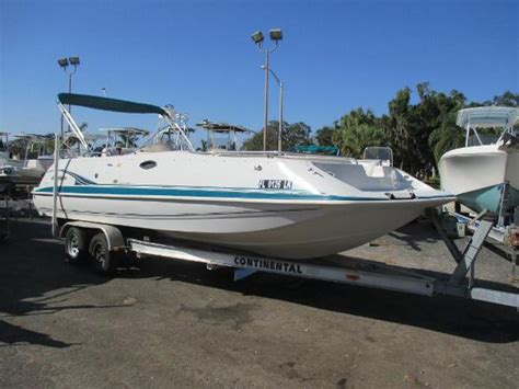 Fun Deck Boats For Sale by Hurricane Gs 248 Fun Deck Boats For Sale