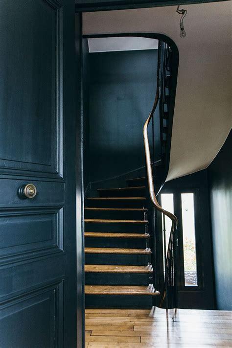 17 meilleures id 233 es 224 propos de escaliers peints en noir sur peinture d escaliers