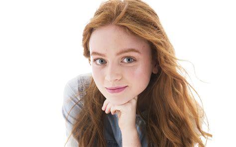 sadie sink actress photoshoot full hd  wallpaper