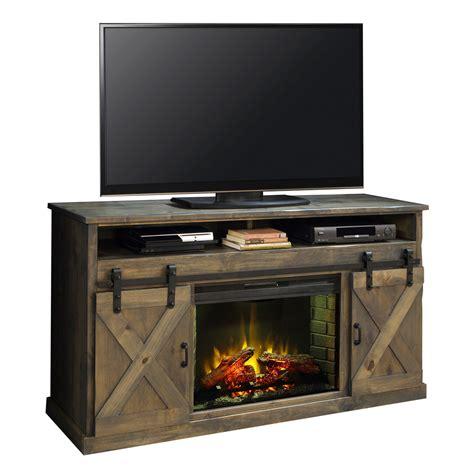 legends fhbnw farmhouse  fireplace tv stand