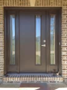 front door therma tru fiberglass door model pulse with