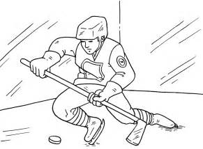 Hockey Coloring Page 13371616 Aouous