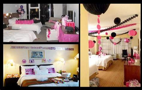 decorate hens room hotel birthday parties unicorn