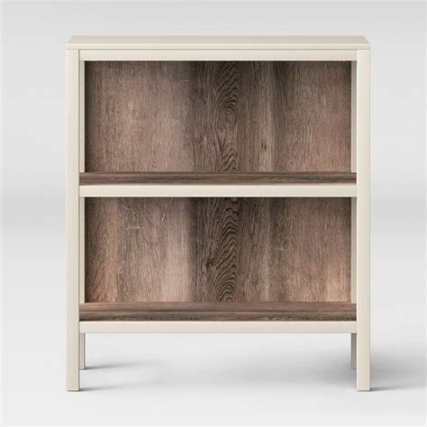 Target 2 Shelf Bookcase by Hadley 36 2 Quot 2 Shelf Bookcase Shell Threshold Target