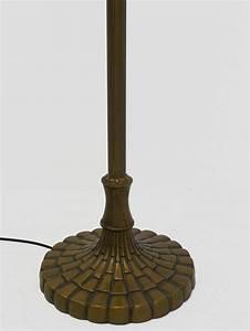 Lampenschirm Stehlampe Glas : lampe standleuchte stehlampe messing mit lampenschirm aus glas 3443 ebay ~ Indierocktalk.com Haus und Dekorationen