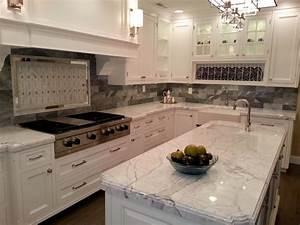 Charming White Granite Countertops for Elegant Kitchen ...